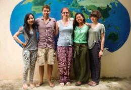Golden Futures (GF) Volunteers 2013